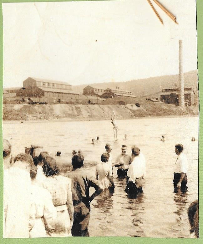 Baptisms in the river